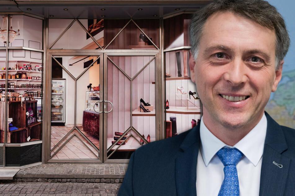 Landrat Stefan Kerth (45, SPD) begrüßt die Öffnung des kompletten Einzelhandels in seinem Landkreis Vorpommern-Rügen.
