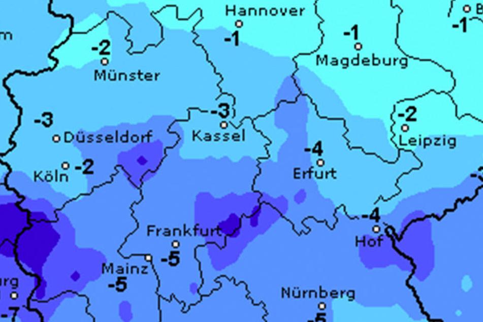 Am Samstag wird es in Ostwestfalen-Lippe tierisch kalt.