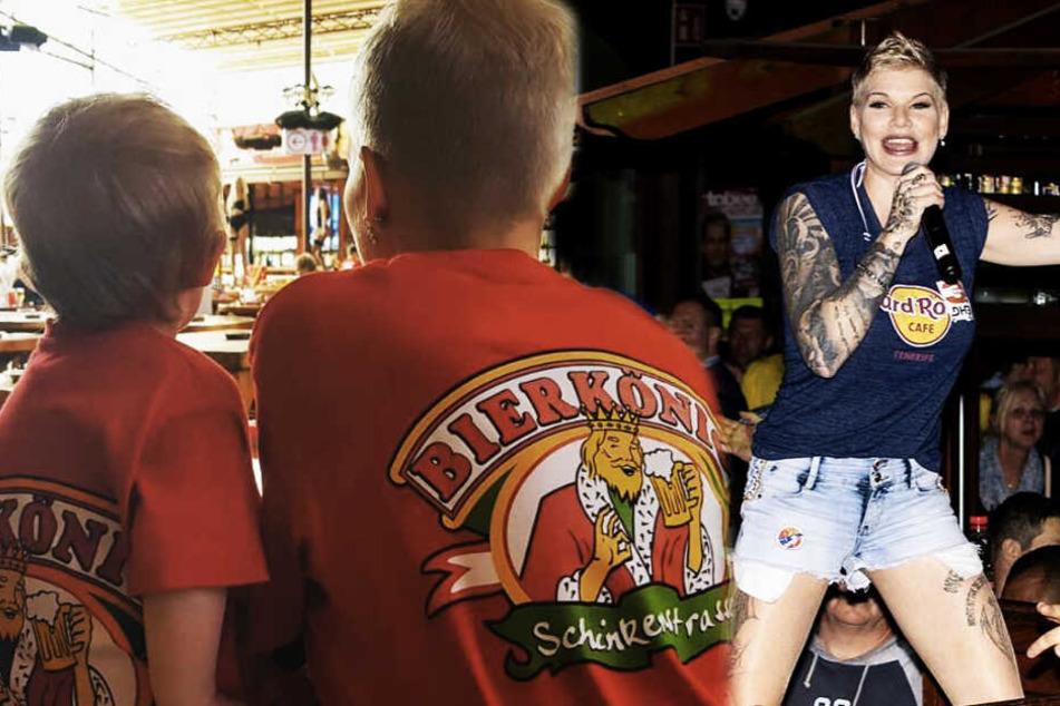 Bierkönig-Opening auf Mallorca: Melanie Müller ist mit einjähriger Tochter am Start