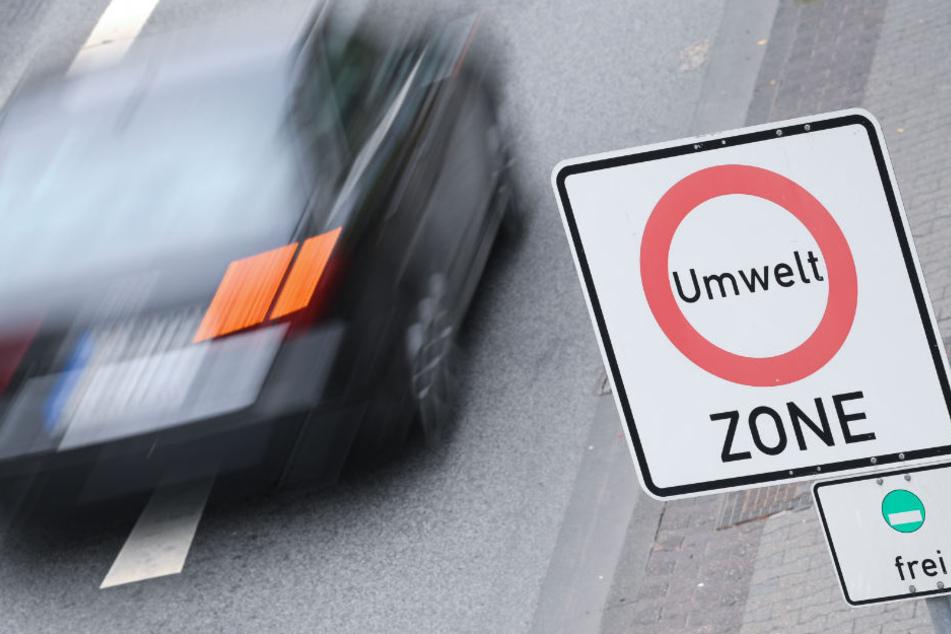 Für Anwohner und Anlieger sollen Ausnahmeregelungen zum Diesel-Fahrverbot gelten. (Symbolbild)