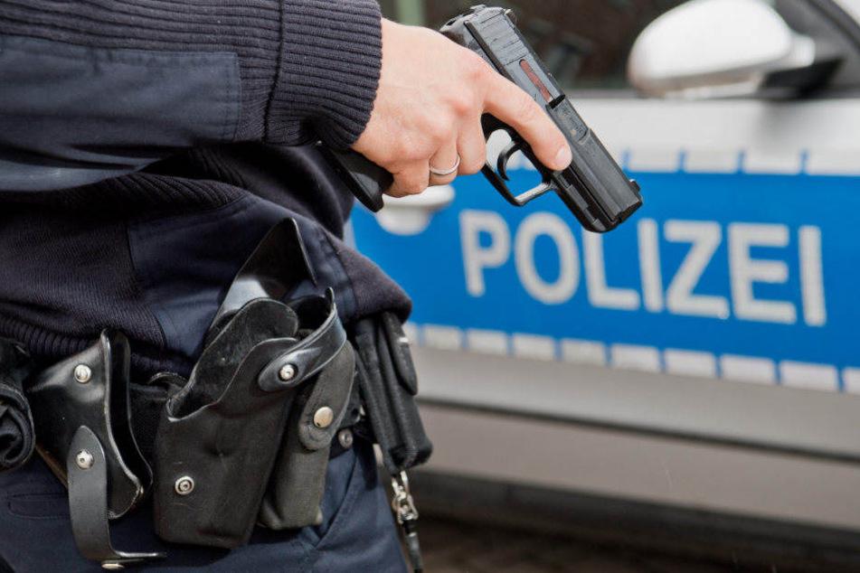 Weil die Polizisten von dem Mann mit einer Säge bedroht wurden, fielen zwei Warnschüsse. (Symbolbild)