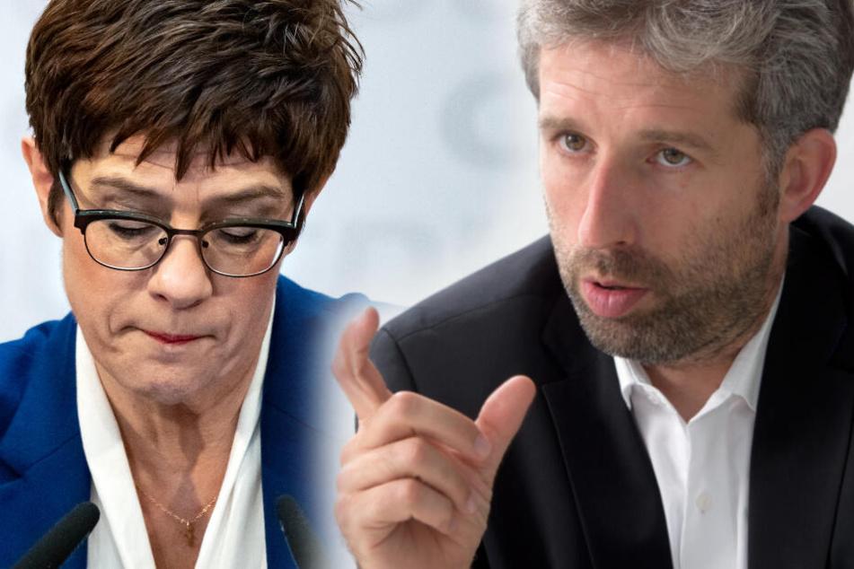 """""""Ausgemerkelt"""": Das sagt Boris Palmer zum AKK-Paukenschlag!"""