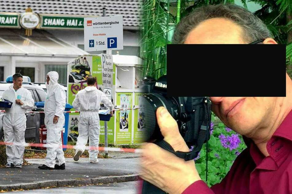 Frau auf offener Straße getötet: Polizei sucht mit Hubschrauber nach diesem Mann