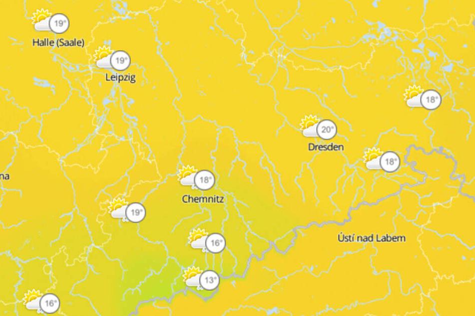Am Wochenende wird es in ganz Sachsen nochmal richtig warm.