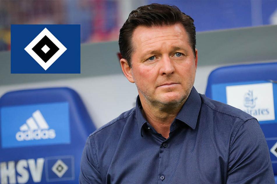 Zweitliga-Hammer! HSV feuert Trainer Titz