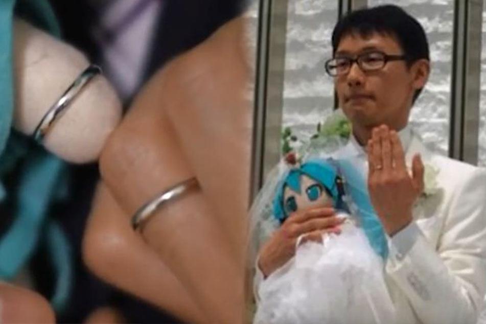Mann heiratet seine große Liebe, doch die ist gar nicht real