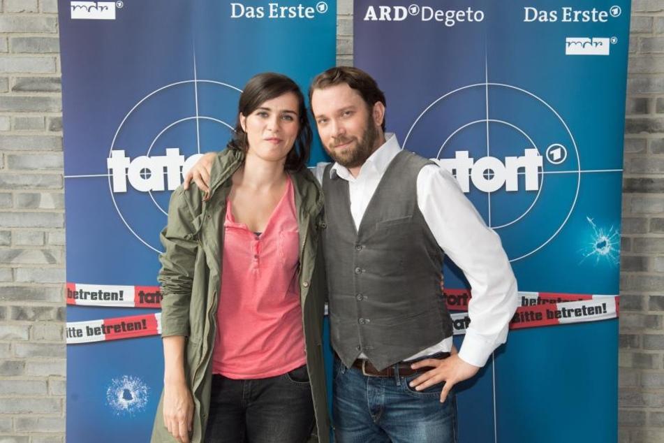 Gemeinsam gehen Nora Tschirner und Christian Ulmen auf Verbrecherjagd in Weimar.