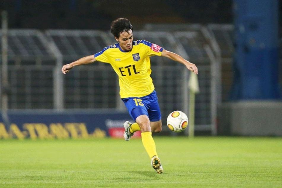 Hiromu Watahik vom 1. FC Lok Leipzig.