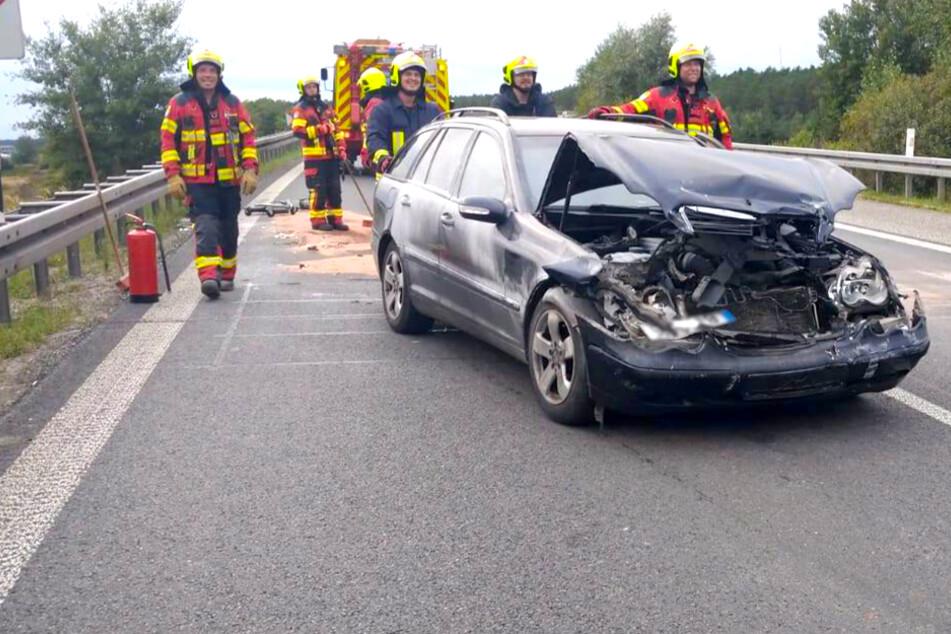 Zwei Unfälle am Autobahndreieck Spreeau: vier Menschen verletzt!