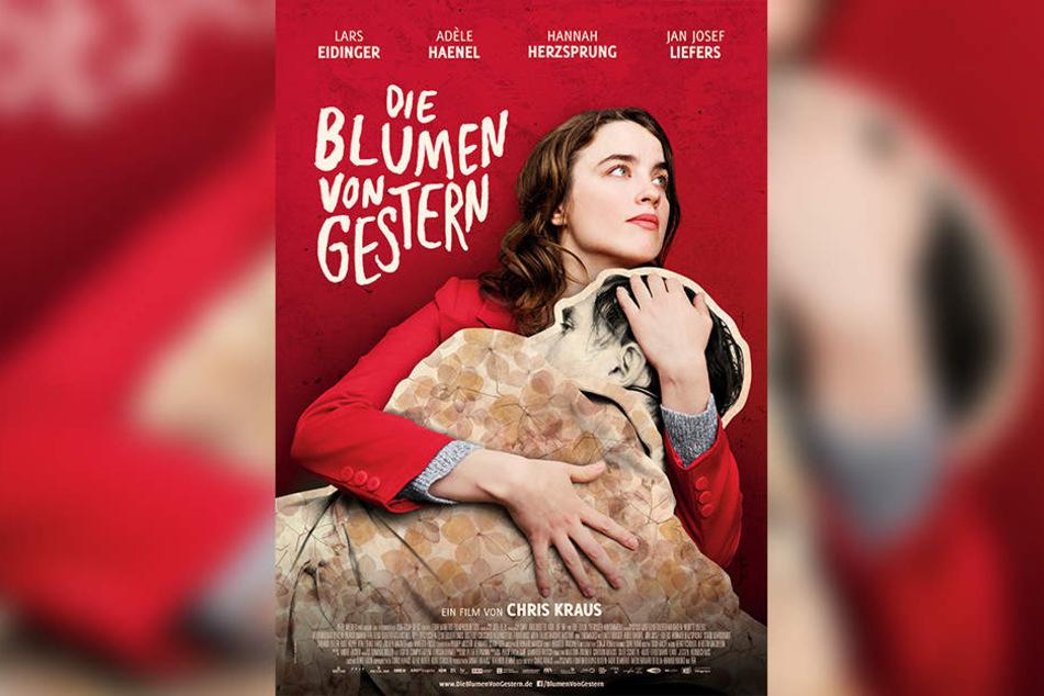 """Das Plakat zum Film """"Die Blumen von gestern"""", der am Donnerstag ins Kino kommt."""