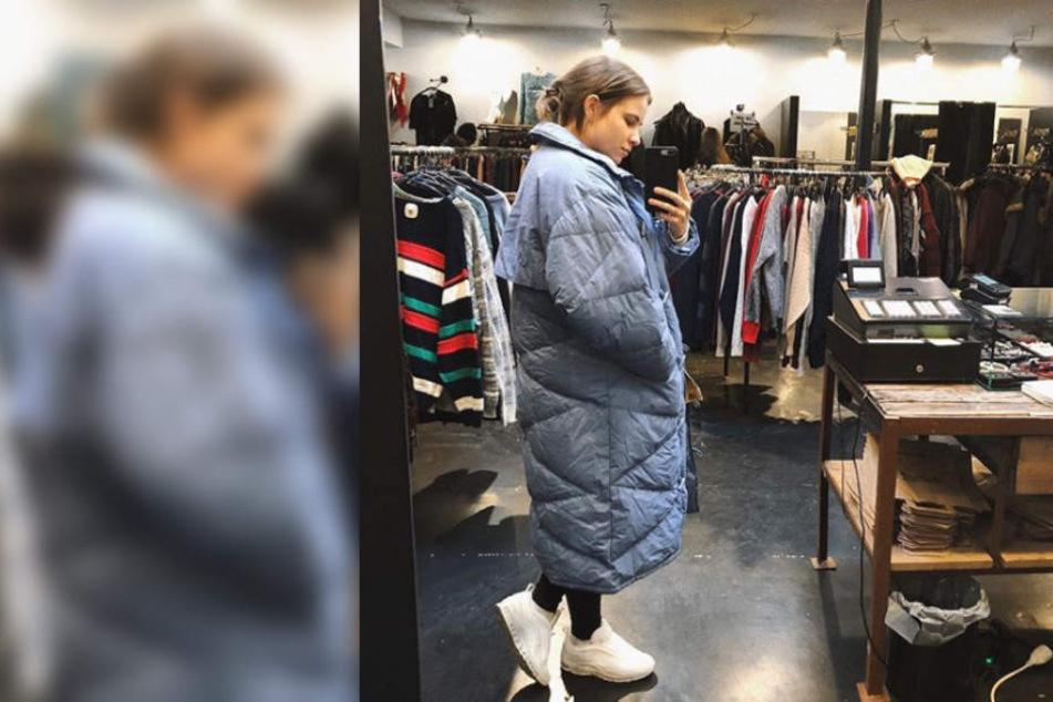 Einige Fans fragen sich, ob Melina Sophie dieses Outfit wirklich ernst meint.