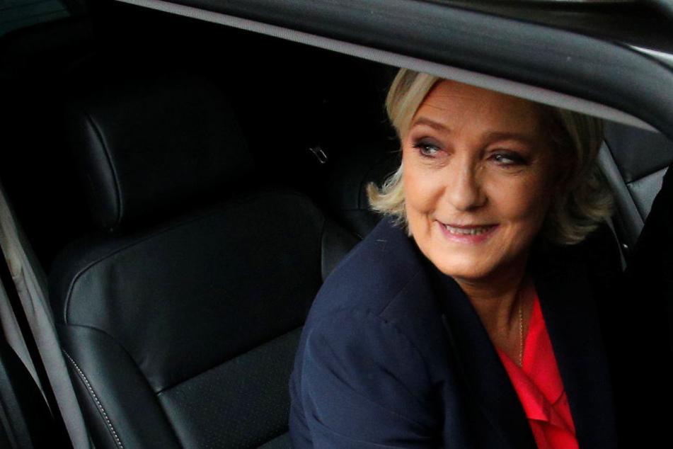 Für Marine Le Pen (48, Front National) hat es nicht gereicht. Sie erhielt ca. 34 Prozent.