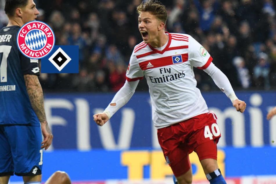 FC Bayern mit HSV-Juwel Arp wohl einig: Mega-Gehalt für Youngster?