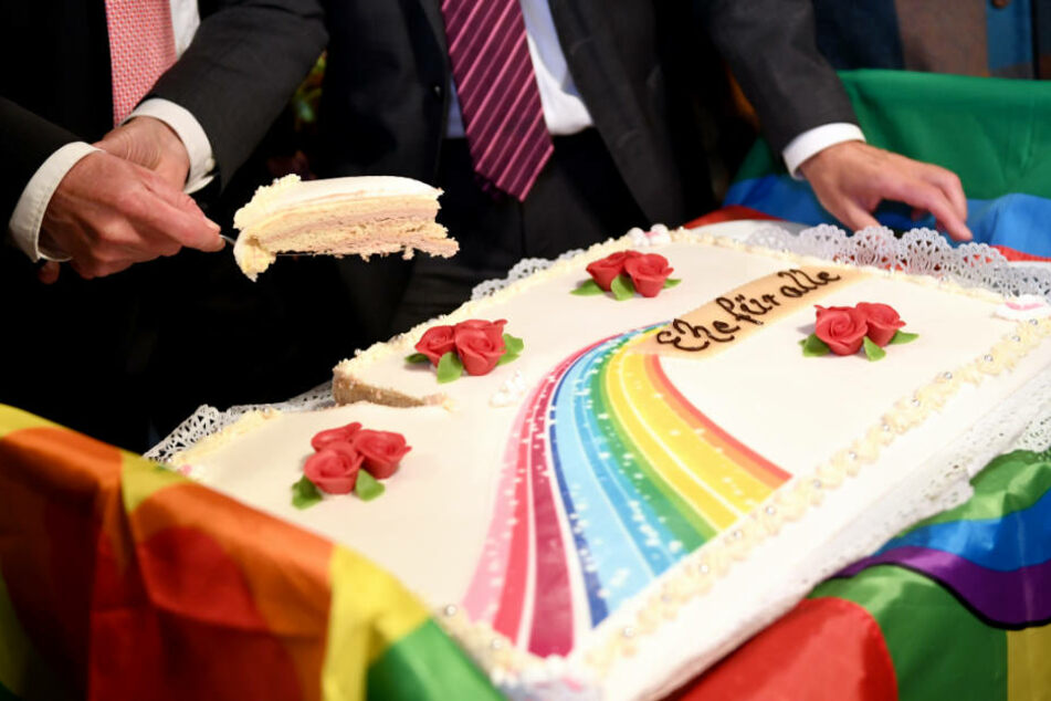 392 gleichgeschlechtliche Paare ließen sich im letzten Jahr allein in Leipzig trauen. (Symbolbild)