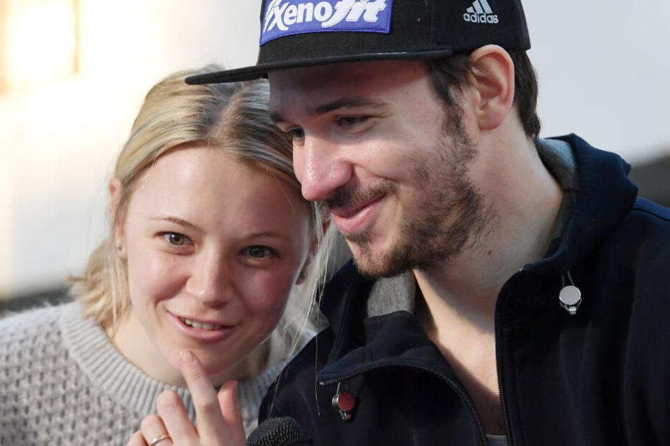 Miriam und Felix Neureuther erwarten ihr zweites Kind. Die Vorfreude ist groß.