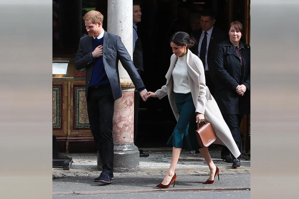 Mit diesem Auftritt hat die Verlobte von Prinz Harry (33) einer jungen Frau eine riesige Freude gemacht.