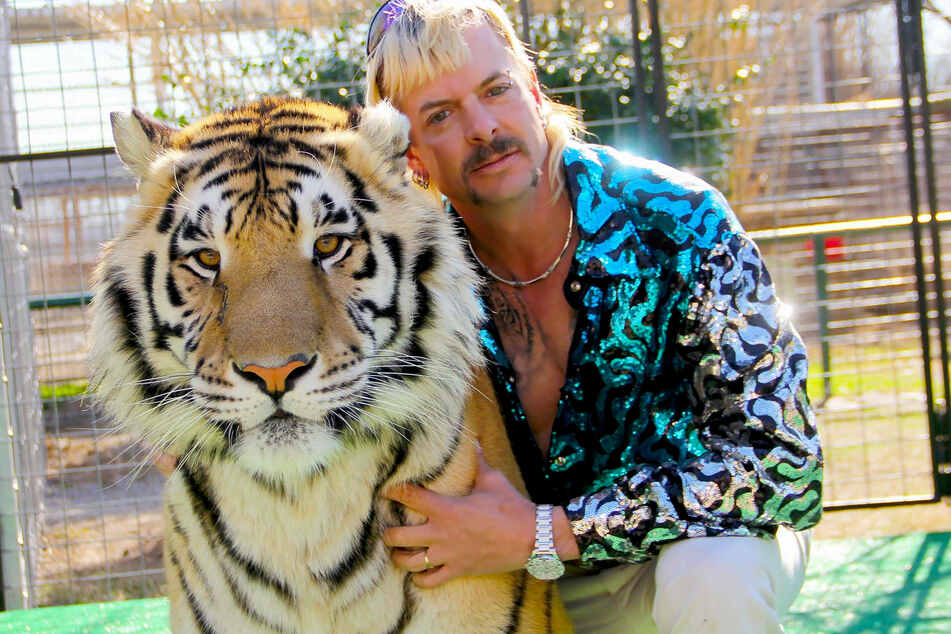 Joe Exotic (57) is a former zookeeper and tiger breeder who starred in the hit Netflix documentary series Tiger King (2020).