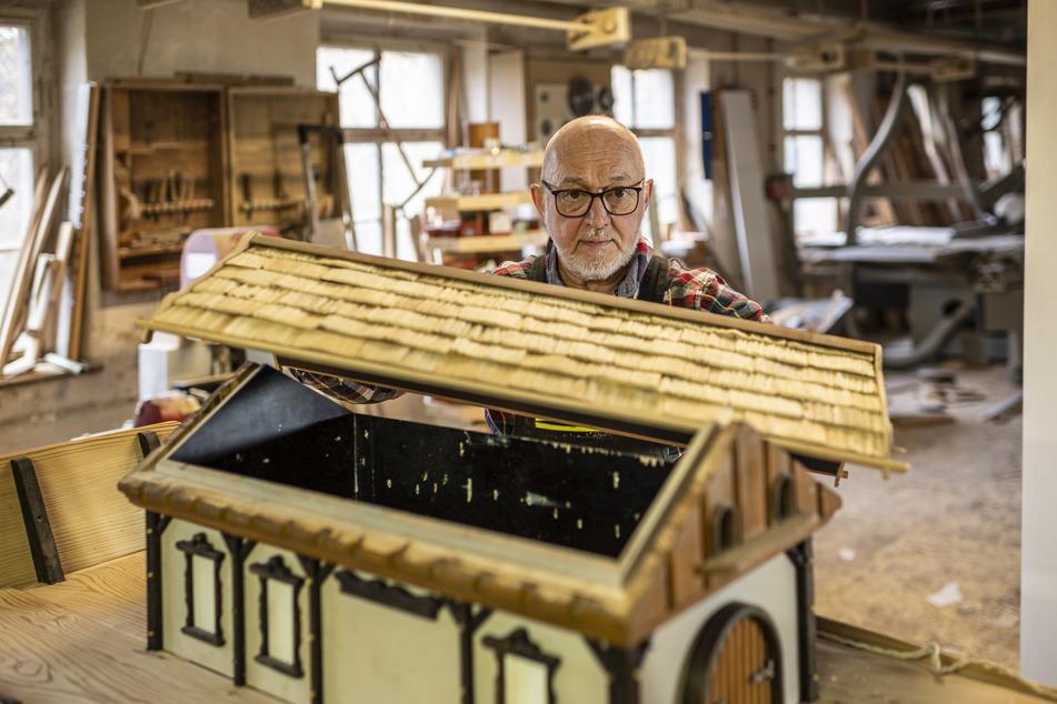 In der Arche von Tischlermeister Frank Loos (73) stecken zahllose Arbeitsstunden.