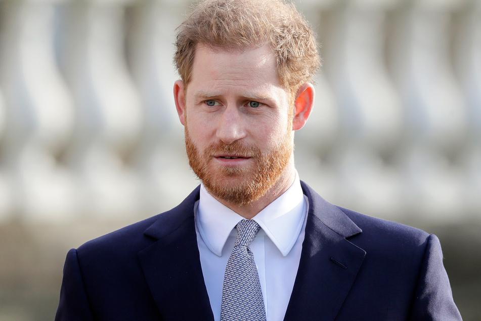Prinz Harry (36) ist offenbar in Großbritannien eingetroffen.