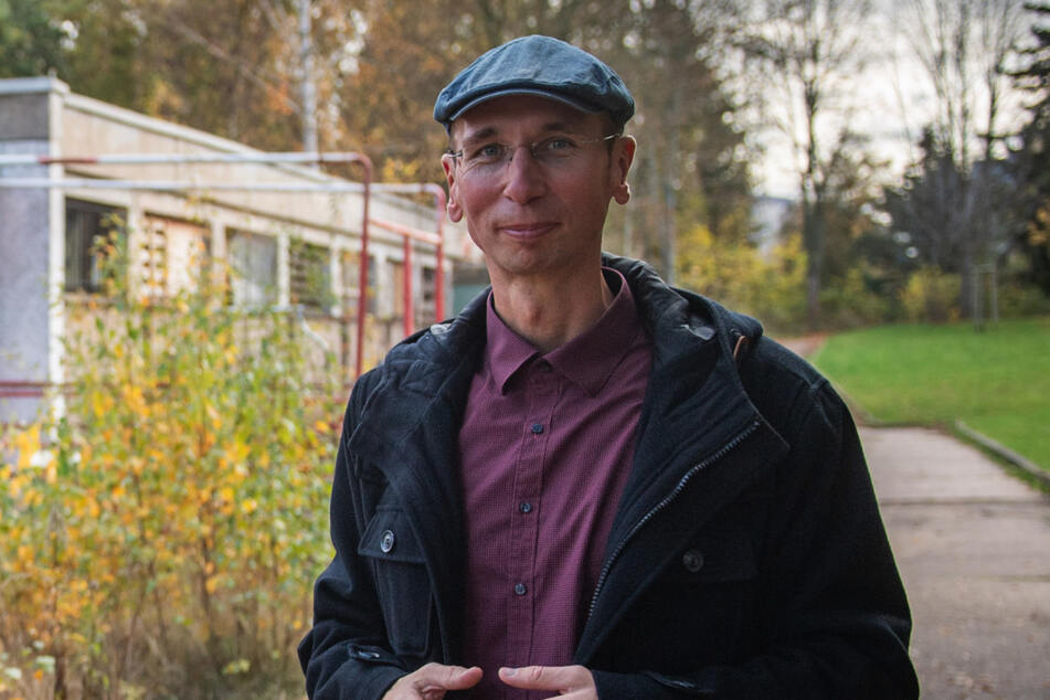 Der Chemnitzer Historiker Norbert Engst (37) verfasst den Info-Text für die Stele.