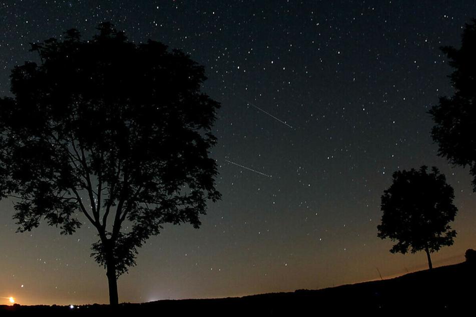 Quadrantiden, Perseiden, Leoniden, Geminiden: Bei klarem Himmel kann man die großen Sternschnuppenströme sehen.