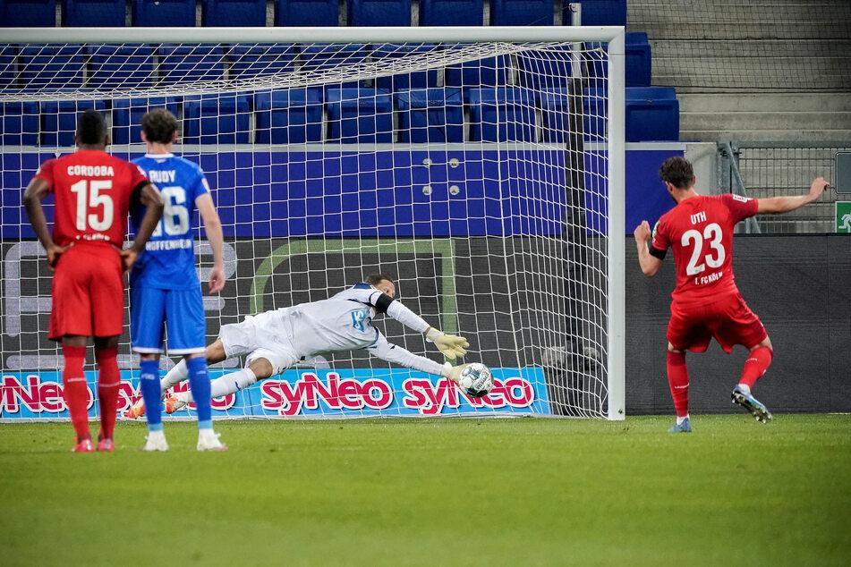 Kölns Mark Uth (28) verschoss gegen Hoffenheim erneut einen Elfmeter.