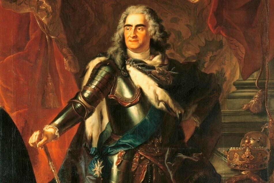 August der Starke (1670-1733) sammelte auch Mumien.