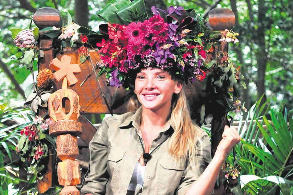 Erst vor wenigen Wochen wurde die Blondine zur diesjährigen Dschungelkönigin gekürt.