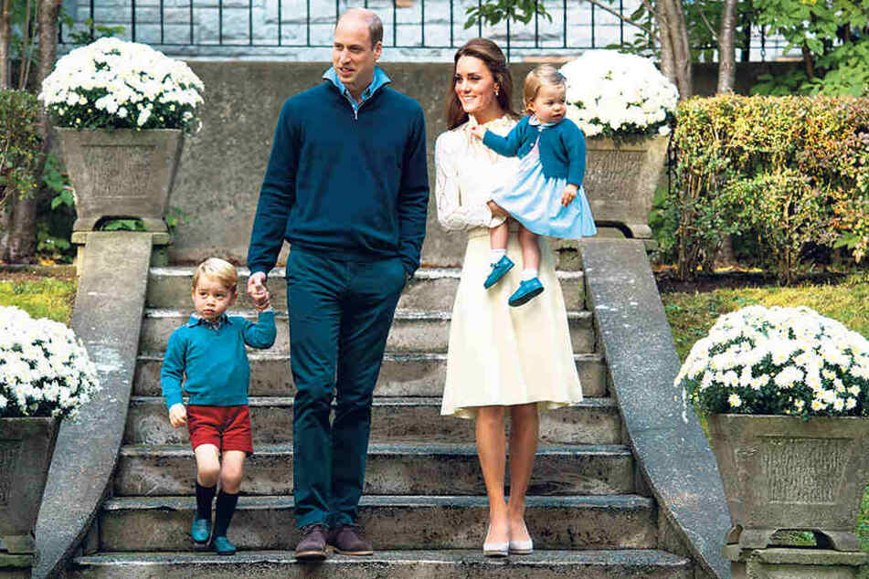 Prinz William (34) ist im Kensington-Palast aufgewachsen. Jetzt will er mit seiner ganzen Familie zurückkehren.