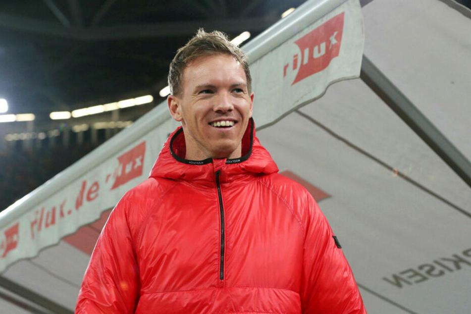 Julian Nagelsmann (32) feierte den sechsten Ligasieg in Serie mit jeweils mindestens drei eigenen Treffern.