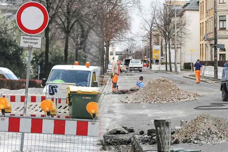 Also doch! Der Radweg auf der Chemnitzer Straße darf bleiben