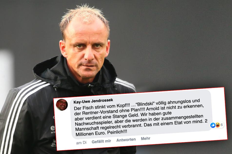 Der ehemalige CFC-Profi und langjährige Leiter des CFC-Nachwuchsleistungszentrums Kay-Uwe Jendrossek (49) übte nach der Niederlage in Babelsberg harsche Kritik.