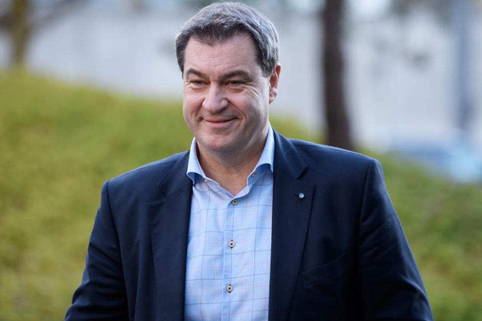 Markus Söder will CSU breit aufstellen und sieht andere Parteien am Zenit. (Archivbild)