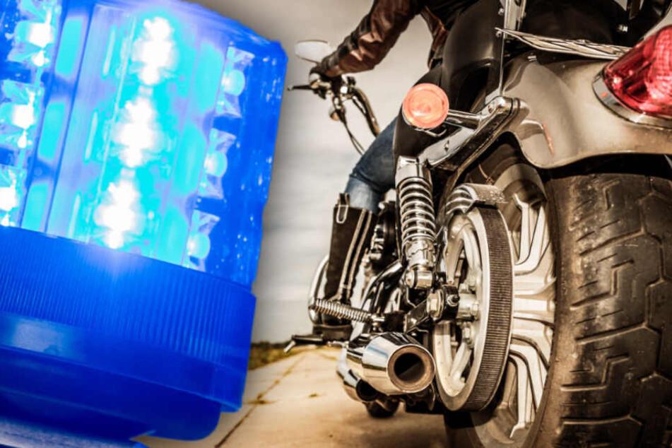 Auf dem Weg zur MPU: Biker ohne Lappen liefert sich Jagd mit Polizei