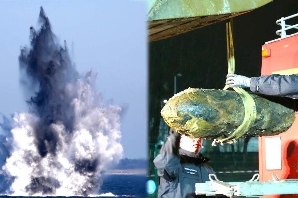 74 Jahre nach Kriegsende! Tonnenweise Kriegsmunition modern noch vor sich hin