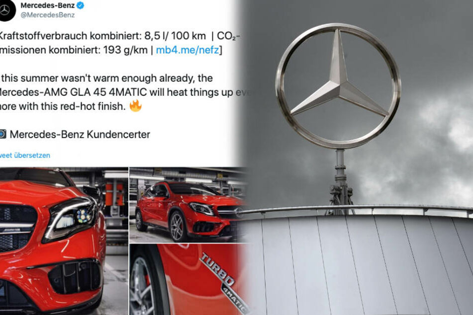 Shitstorm gegen Mercedes nach Tweet: Ironie geht nach hinten los