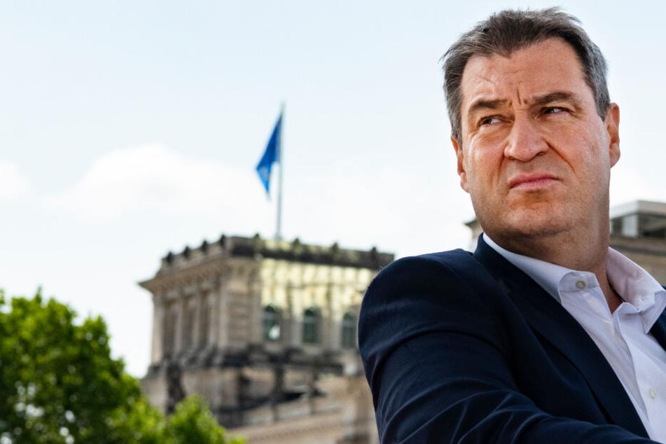 Strafzins: Jetzt legt sich Markus Söder mit den Banken an!