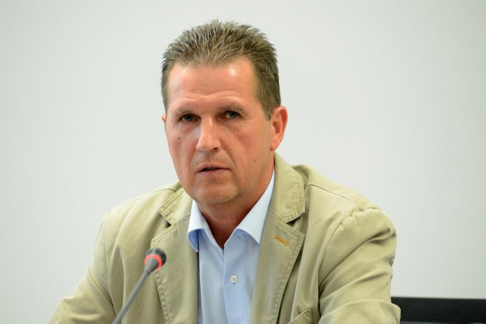 Ralf Lübs (55), Chef des Dresdner Ordnungsamtes.