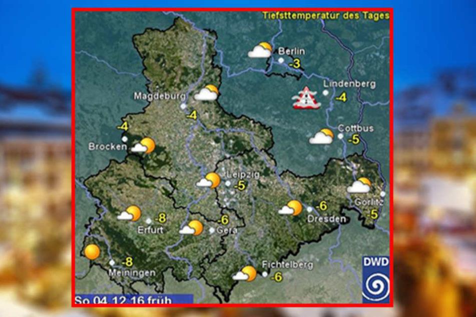 Es wird kalt in Sachsen!