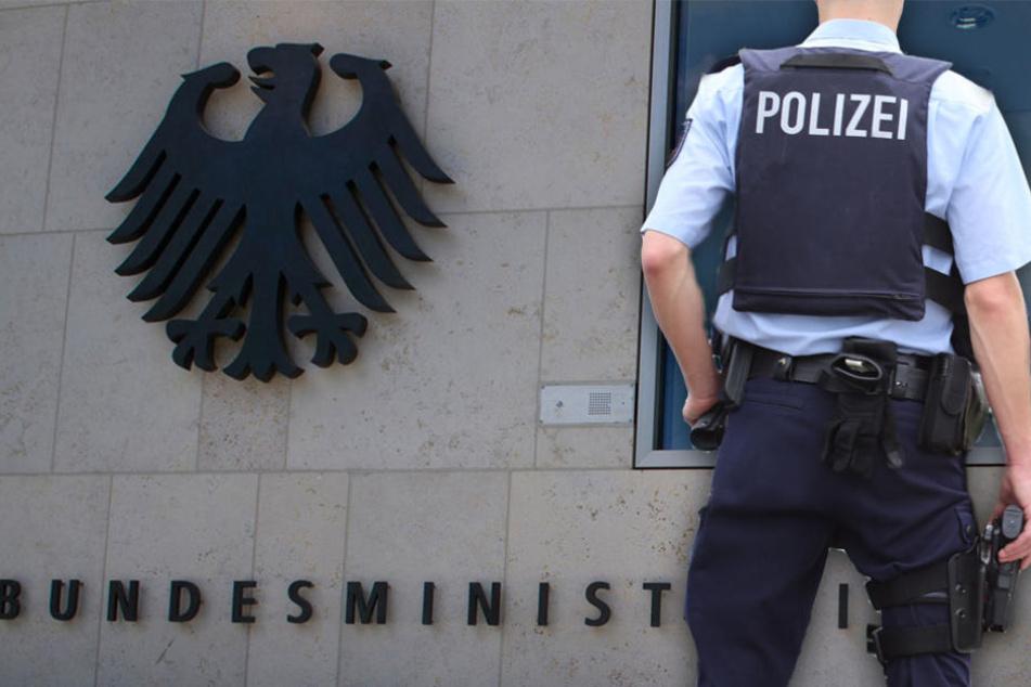 Der Bundespolizist soll vor allem Sinti und Roma beleidigt haben. (Symbolbild)