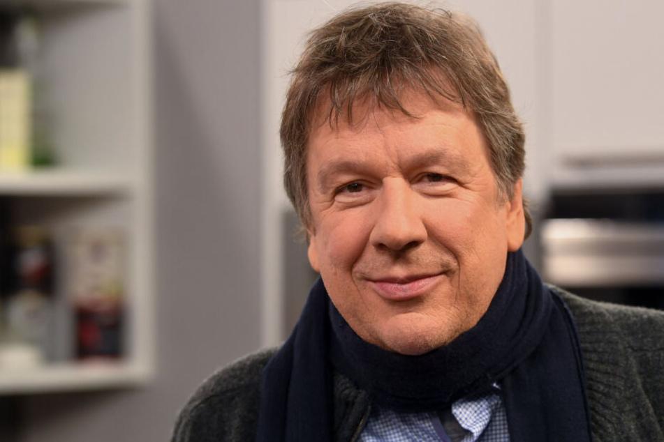 """Jörg Kachelmann kehrt ein letztes Mal als """"Wetterfrosch"""" zurück."""
