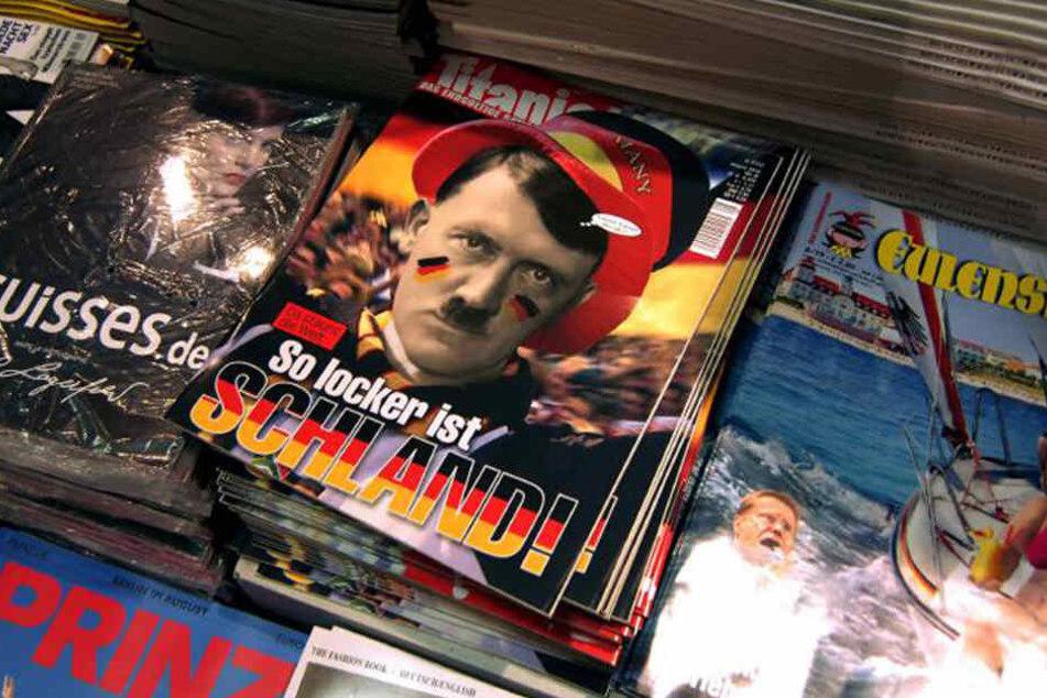 Das Satiremagazin Titanic ist für seine provokanten Schlagzeilen bekannt.