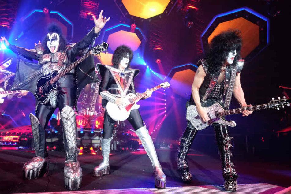 Seit Jahrzehnten sind Kiss fester Bestandteil der Rock-Szene.