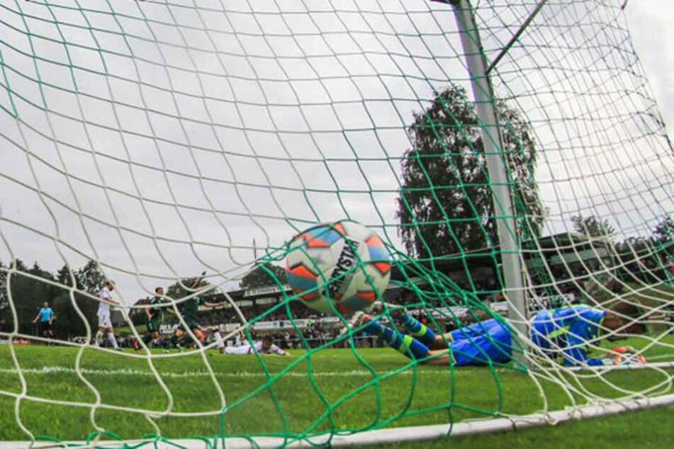 43 Mal schlug der Ball im Tor ein (Symbolfoto).