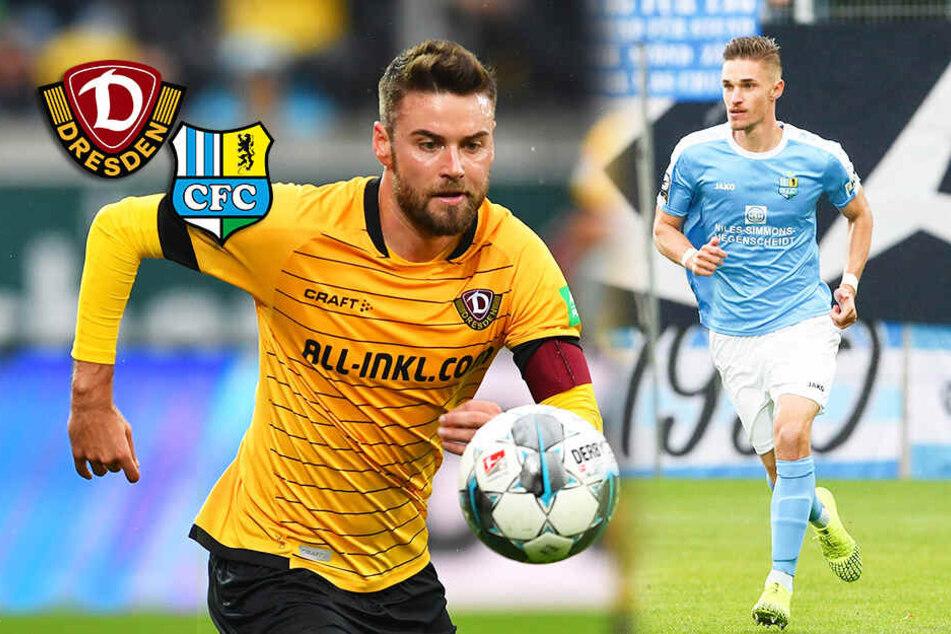 Dynamo Dresden testet gegen den Chemnitzer FC