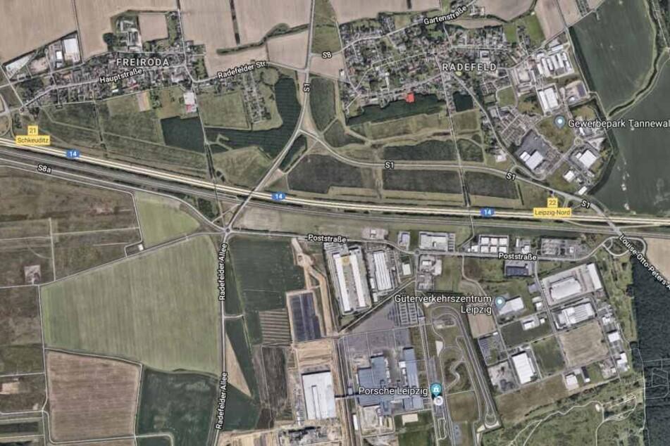 Von den Sperrungen der Anschlussstellen betroffen sind Leipzig-Nord und Schkeuditz.