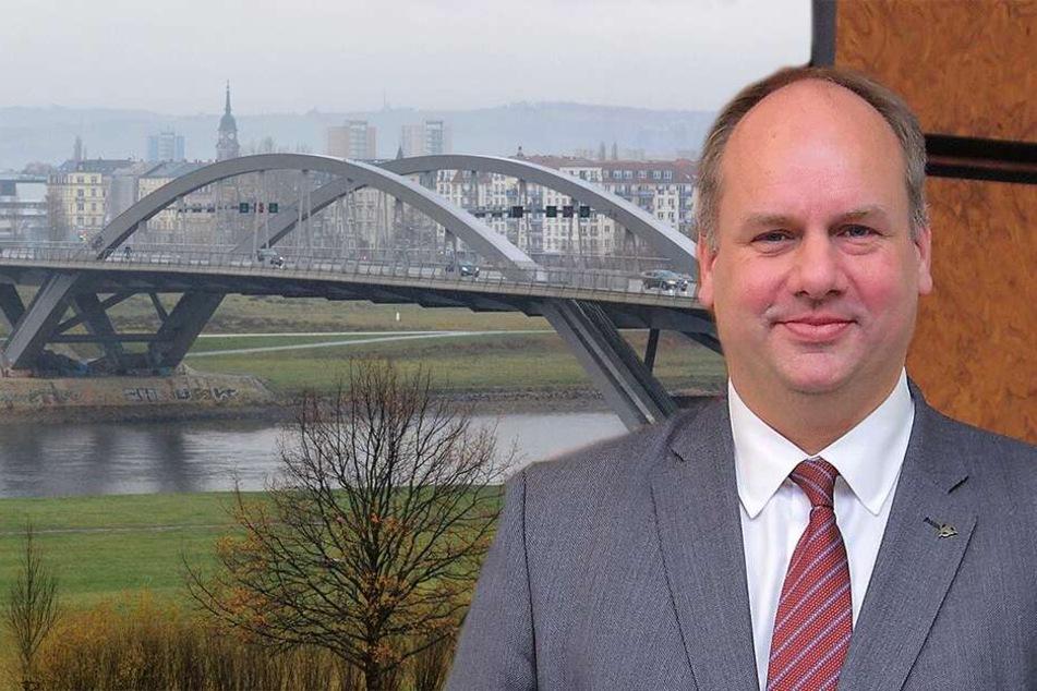 Umweltauflagen für die Waldschlößchen-Brücke: Rathaus hat nach Jahren (vermutlich) einen Plan