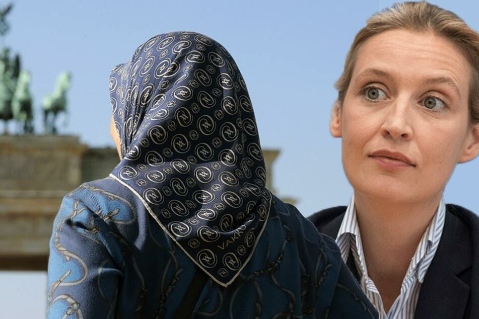 AfD-Spitzenkandidatin Alice Weidel fordert Kopftuchverbot