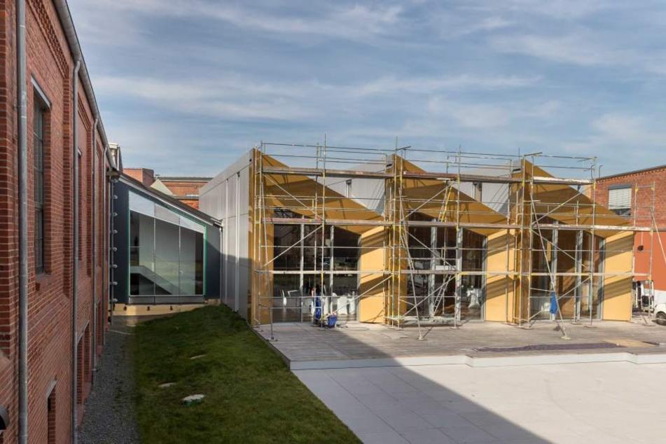 Mit dem Erweiterungsbau verdoppelt sich nach Angaben einer Sprecherin die Fläche auf rund 6500 Quadratmeter (Archivbild).