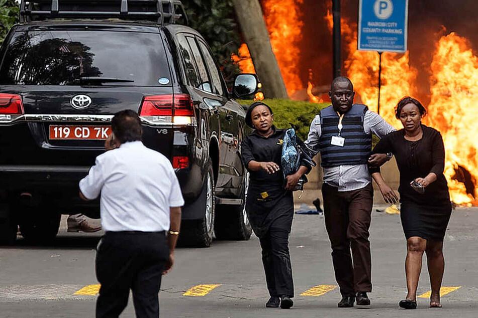 """Explosionen und Schüsse in Luxushotel: Zahlreiche Tote, Terroristen """"eliminiert"""""""